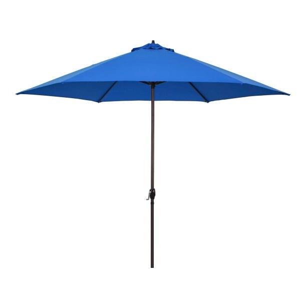 11' Market Umbrella Fabric: Pacific Blue