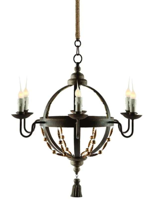 Atlas 5-Light Candle-Style Chandelier