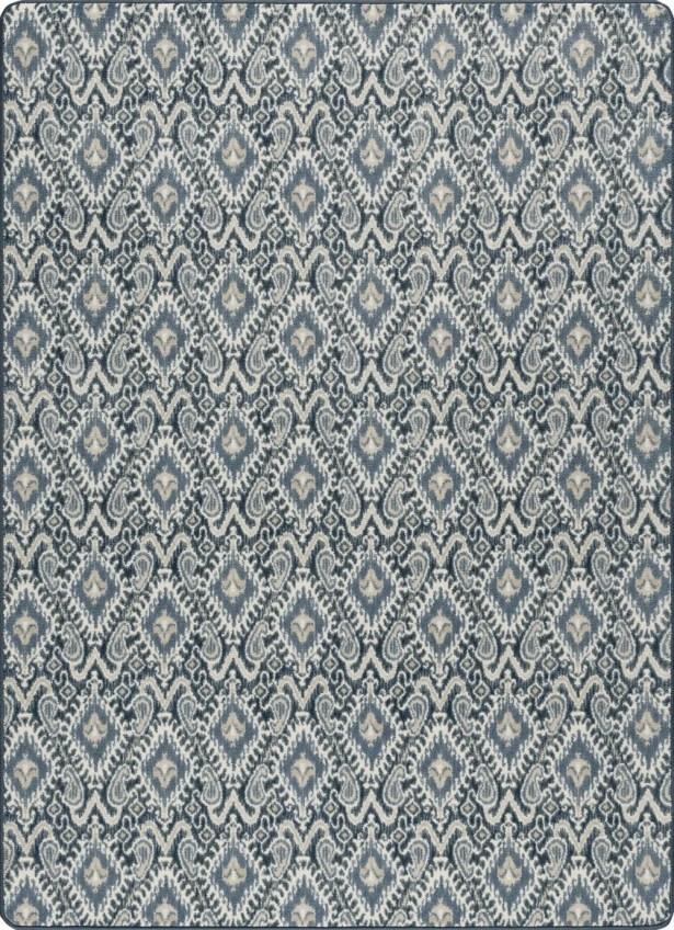 Glastonbury Crafted Indigo Area Rug Rug Size: Rectangle 2'1