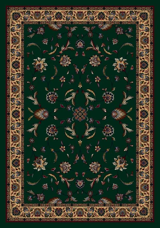 Signature Isfahan Emerald Area Rug Rug Size: Rectangle 5'4