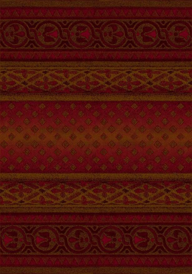 Signature Mohavi Brick/Red Area Rug Rug Size: Rectangle 5'4