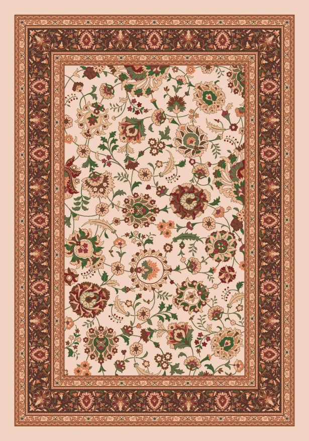 Pastiche Aydin Sand Rug Rug Size: Oval 7'8