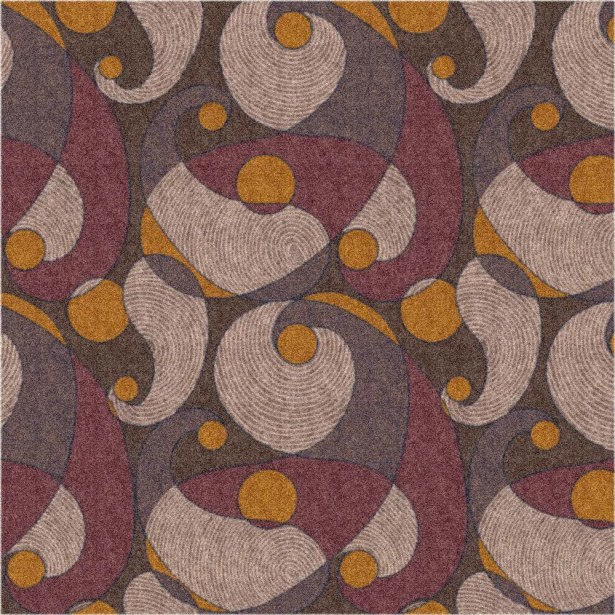 Pastiche Remous Brown Area Rug Rug Size: Rectangle 2'1