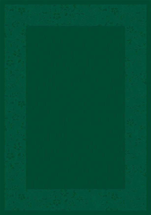 Design Center Emerald Brocade Area Rug Rug Size: Rectangle 3'10