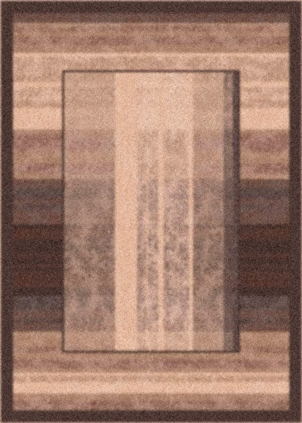 Modern Times Aspire Dark Brown Area Rug Rug Size: Rectangle 7'8
