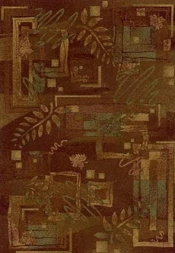 Innovation Autumn Twill Dark Chocolate Area Rug Rug Size: Rectangle 2'1