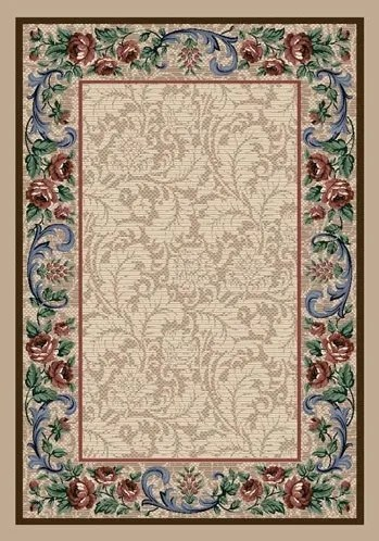 Innovation Pearl Mist Rose Damask Area Rug Rug Size: Rectangle 7'8