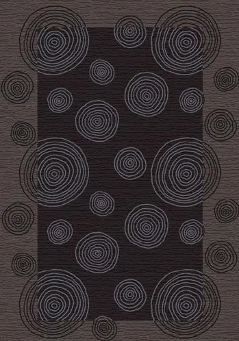 Innovation Pewter Wabi Area Rug Rug Size: Oval 3'10