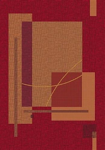 Pastiche Fairmont Sangria Rug Rug Size: Octagon 7'7