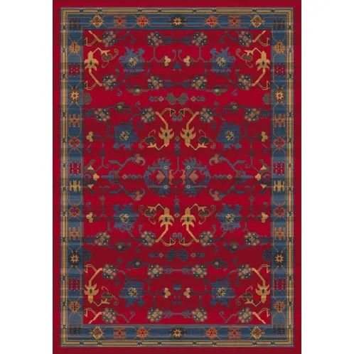 Pastiche Kashmiran Sharak Red Cinnamon Area Rug Rug Size: Rectangle 2'8