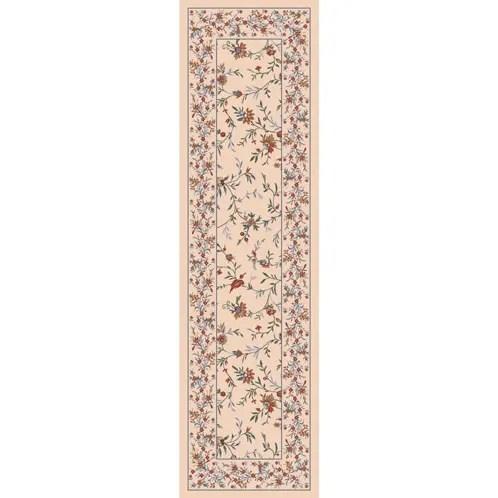 Pastiche Hampshire Floral Sand Rug Rug Size: Square 7'7
