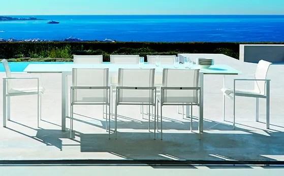 Santistevan Aluminum Dining Table Base Color: Brillant Blanc, Size: 29