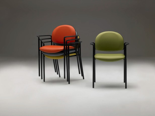 Stacking Guest Chair Seat Color: Artichoke