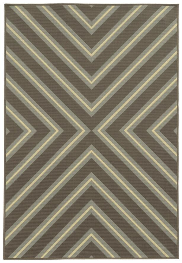 Heath Grey/Blue Indoor/Outdoor Area Rug Rug Size: Rectangle 5'3