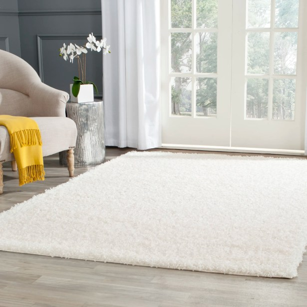 Kourtney White Area Rug Rug Size: Rectangle 10' x 14'