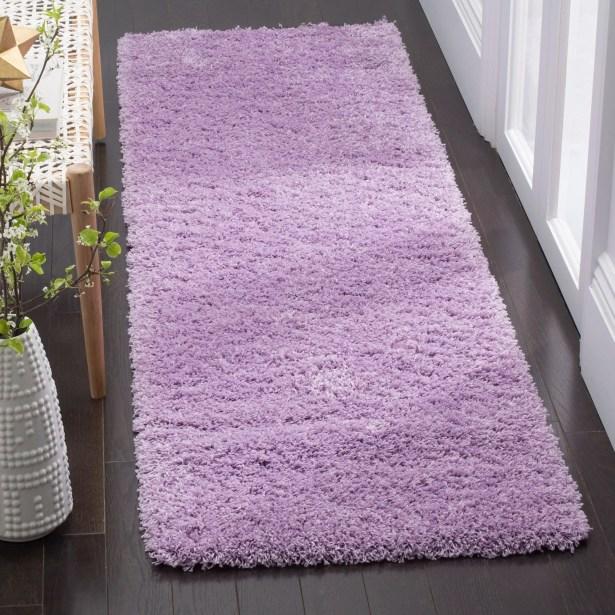 Collin Purple Area Rug Rug Size: Rectangle 8'6