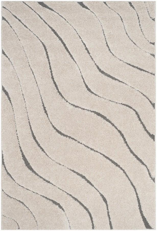 Enrique Cream/Gray Area Rug Rug Size: Runner 2'3