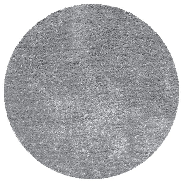 Catharine Hand-Woven Gray Area Rug Rug Size: Round 6'6