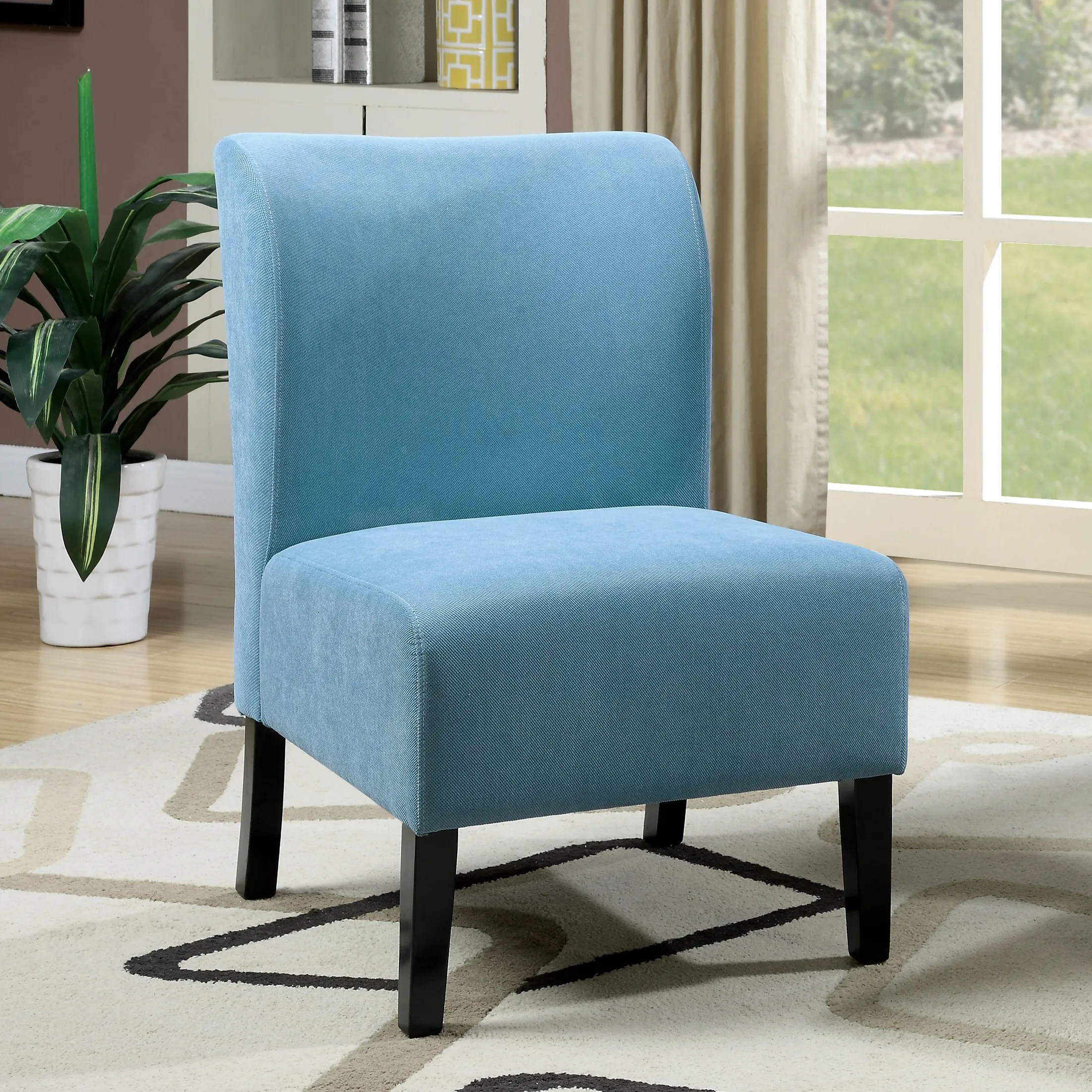Blue Slipper Chair Accent Chairs Reedsport Slipper Chair April 2019