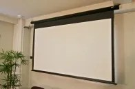 Spectrum Series MaxWhite� Electric Projection Screen Viewing Area: 128