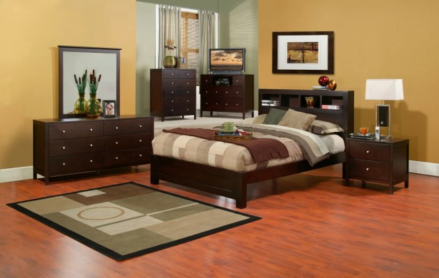 Arrowwood Platform Configurable Bedroom Set