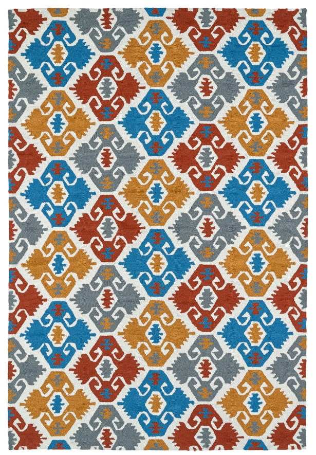 Cavour Handmade Multi Indoor / Outdoor Area Rug Rug Size: Rectangle 8' x 10'