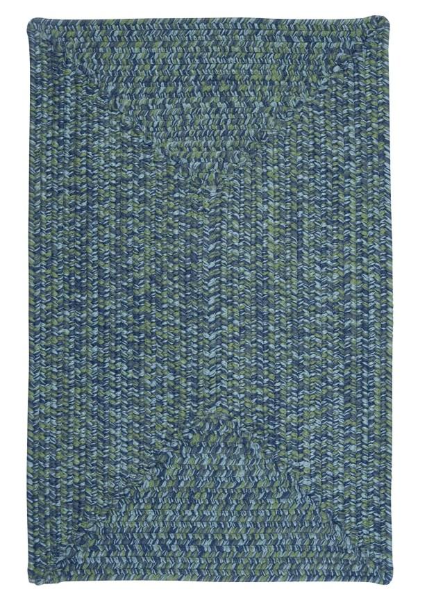 Hawkins Deep Sea Indoor / Outdoor Area Rug Rug Size: Square 8'