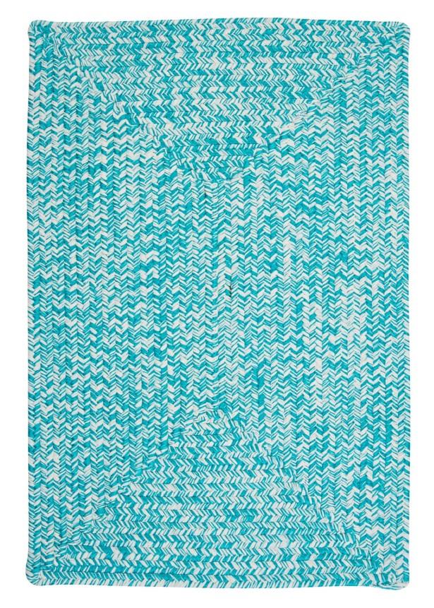 Hawkins Turquoise Indoor/Outdoor Area Rug Rug Size: Rectangle 4' x 6'