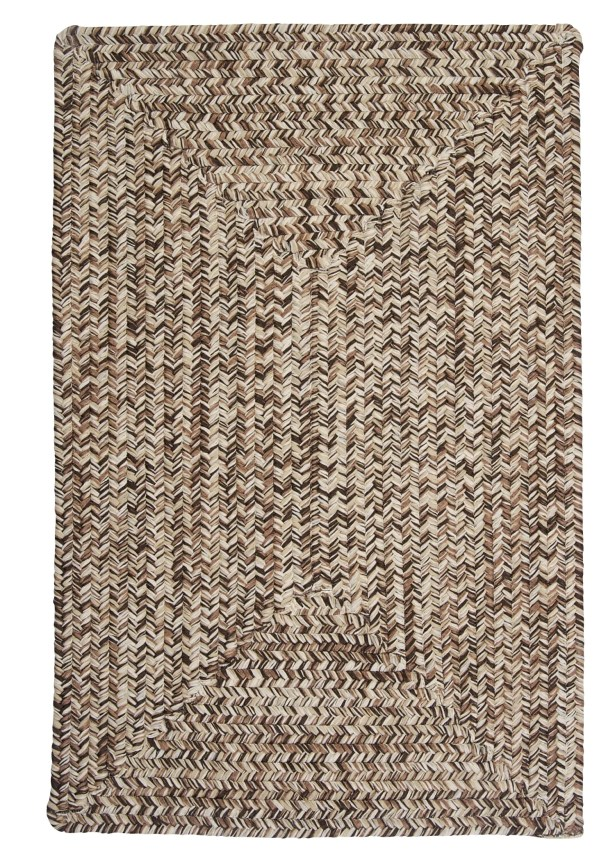 Beltran Weathered Brown Rug Rug Size: Square 10'