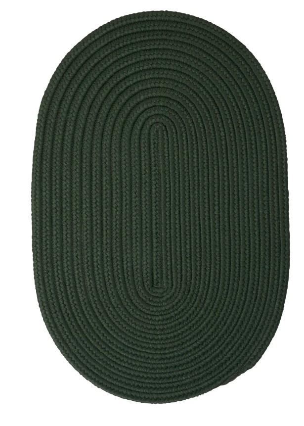 Mcintyre Dark Green Outdoor Area Rug Rug Size: Round 10'