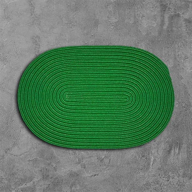 Mcintyre Green Outdoor Area Rug Rug Size: Oval 7' x 9'