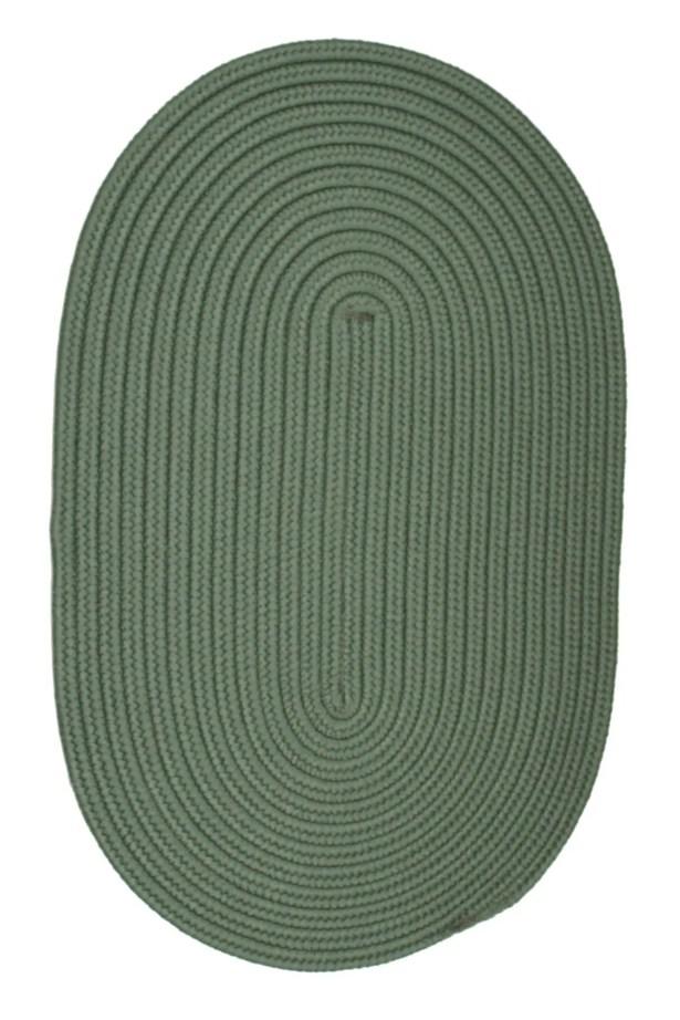 Mcintyre Myrtle Green Indoor/Outdoor Area Rug Rug Size: Oval 7' x 9'