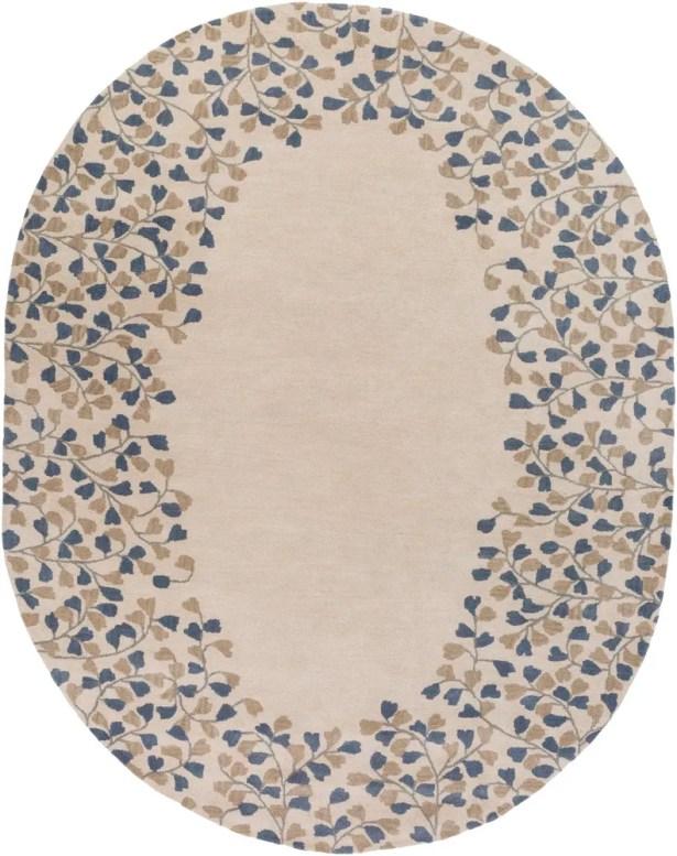 Hayden Gray/Beige Area Rug Rug Size: Oval 8' x 10'