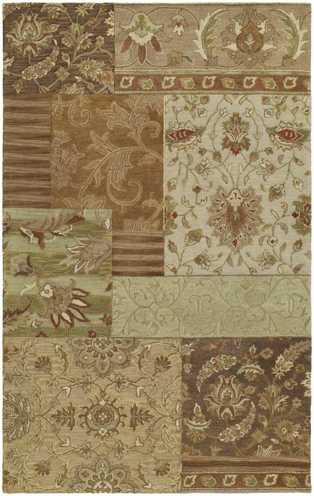 Posen Hand-Woven Wool Bronze Area Rug Rug Size: Rectangle 5' x 7'9