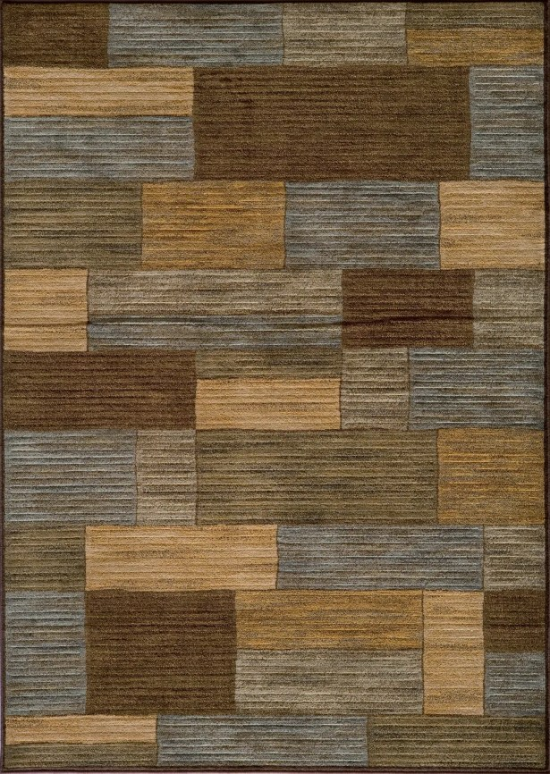 Sherill Brown/Beige Area Rug Rug Size: Rectangle 9'3