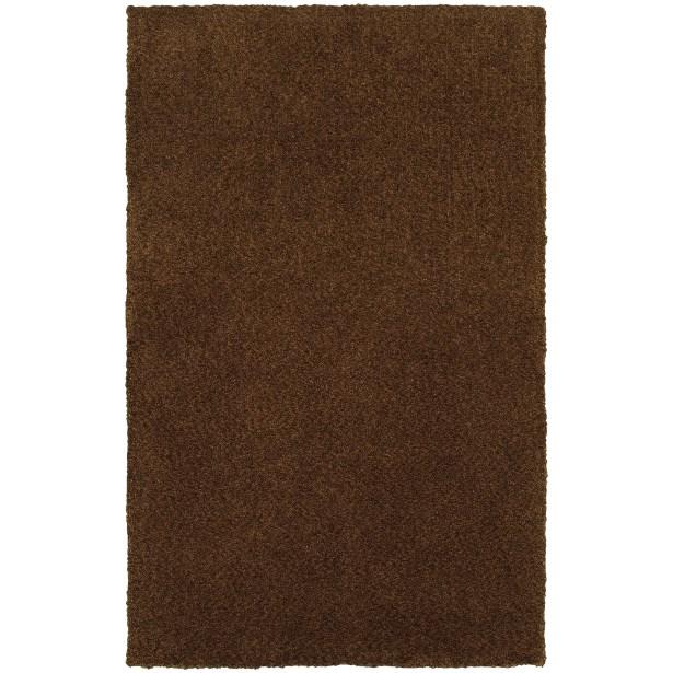 Toronto Hand-Tufted Brown Area Rug Rug Size: Rectangle 10' x 13'