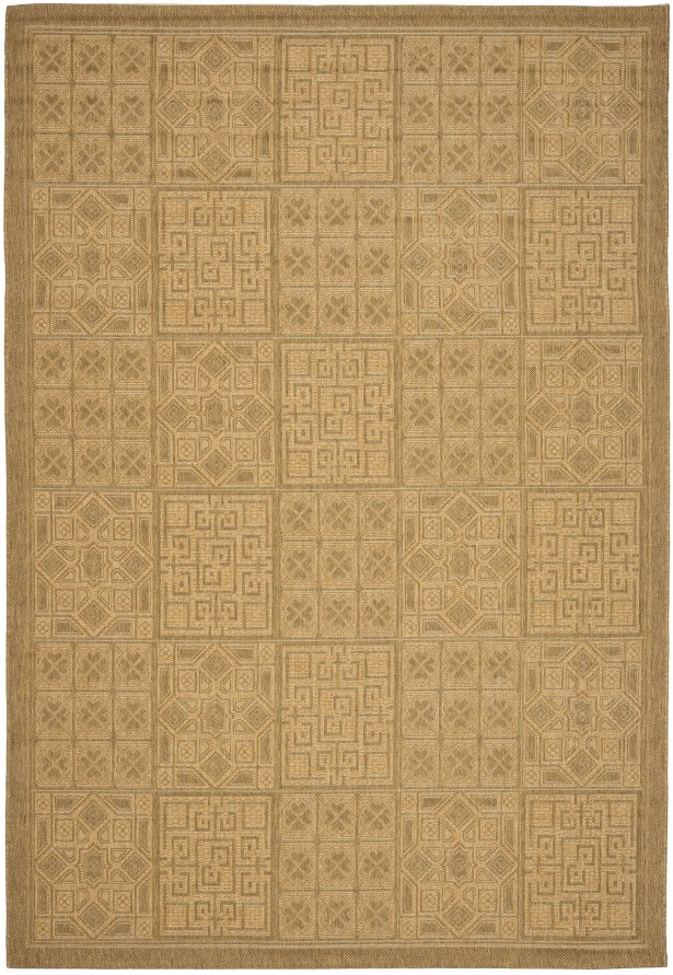 Short Gold Rug Rug Size: Rectangle 6'7