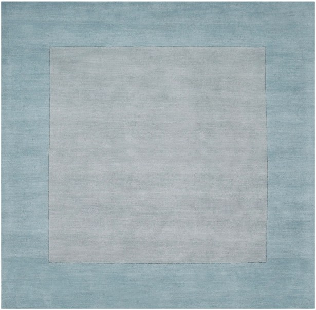 Bradley Hand Woven Silvered Gray Area Rug Rug Size: Square 6'