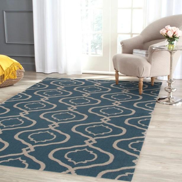 Coffman Rectangle Blue Area Rug Rug Size: Rectangle 9' x 12'