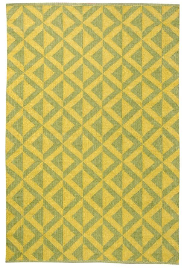 Medival Sage/Mustard Outdoor Rug Rug Size: 4' x 6'