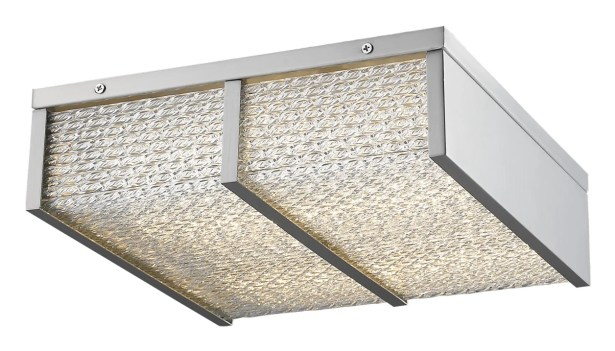 Worrell LED Flush Mount Color: Brushed Nickel