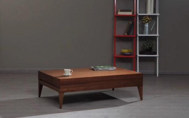 Ahrens Coffee Table Color: Walnut