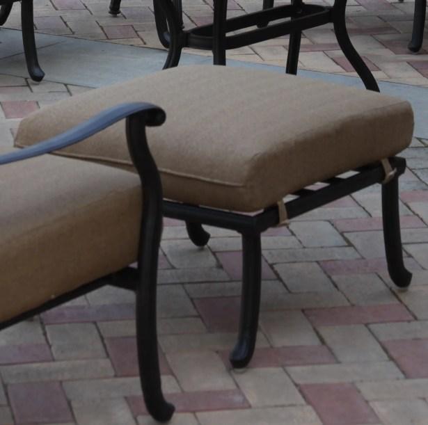 Lenahan Ottoman with Cushion