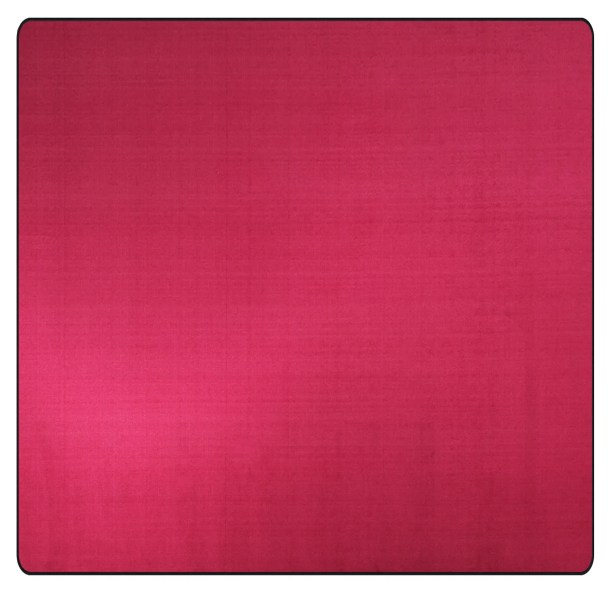 Americolors Cranberry Area Rug Rug Size: Square 12'