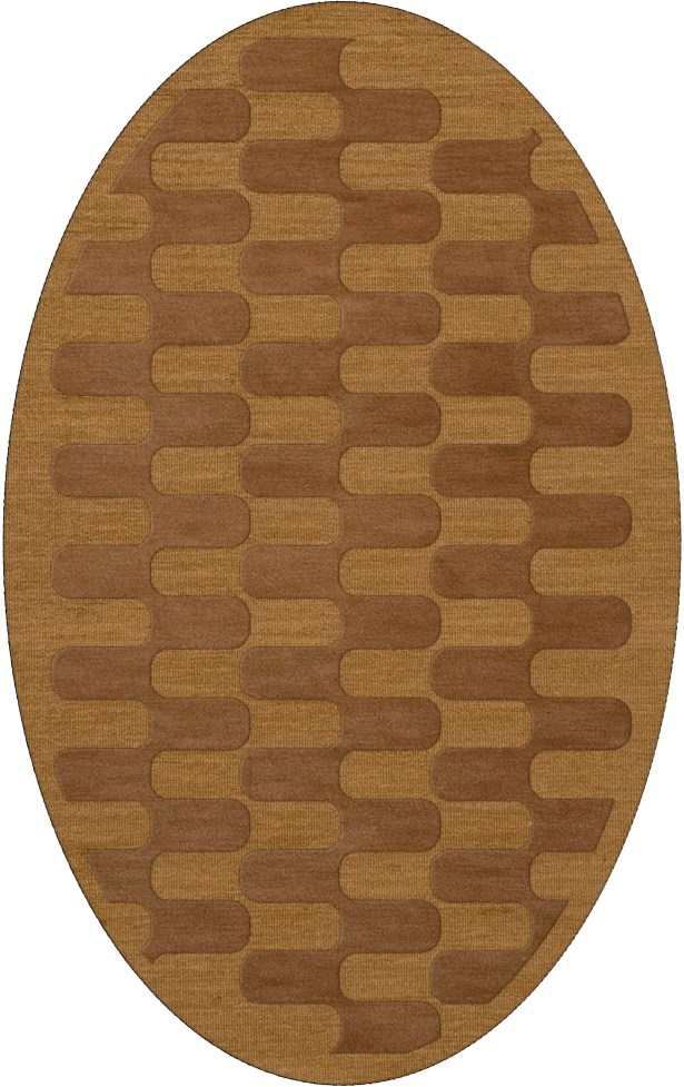 Dover Gold Dust Area Rug Rug Size: Oval 8' x 10'