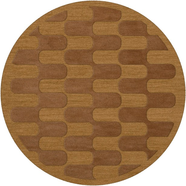 Dover Gold Dust Area Rug Rug Size: Round 10'