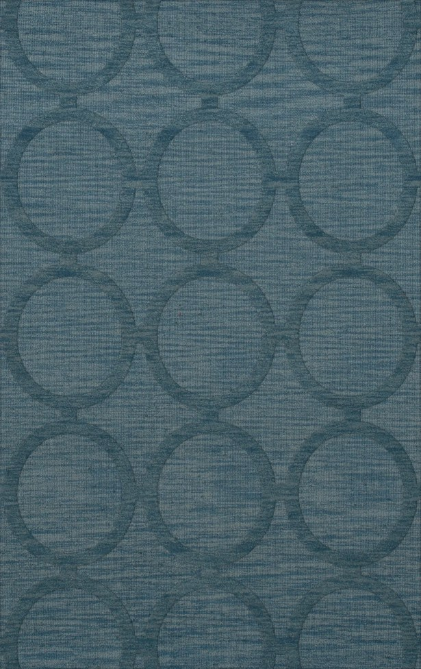 Dover Tufted Wool Sky Area Rug Rug Size: Rectangle 4' x 6'