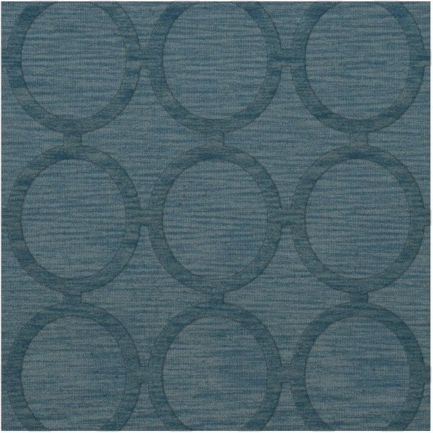 Dover Tufted Wool Sky Area Rug Rug Size: Square 4'