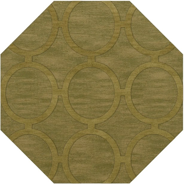 Dover Tufted Wool Pear Area Rug Rug Size: Octagon 8'