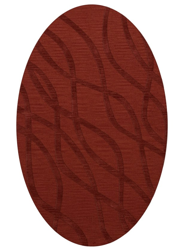 Dover Tufted Wool Canyon Area Rug Rug Size: Oval 10' x 14'